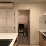 使いづらいキッチン家電の置き場を見直しました。