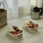 お弁当箱は洗いやすいイオンの保存容器
