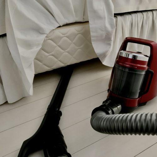 掃除機がかけやすい部屋作りへのこだわり