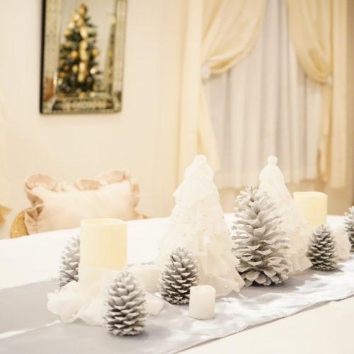 【クリスマス編】手作りツリーでテーブルコーディネートと料理