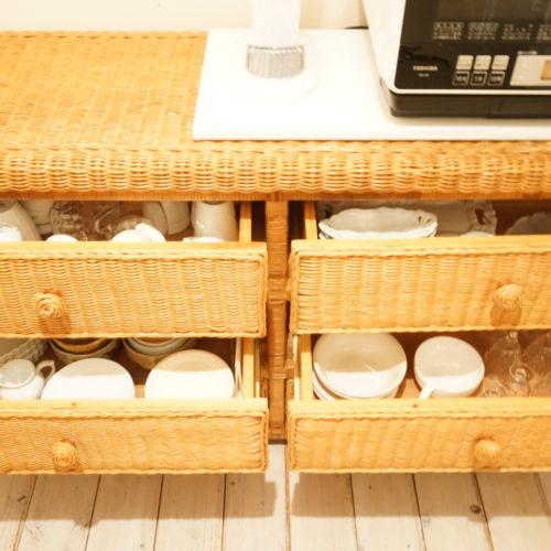 変化していく食器の収納方法