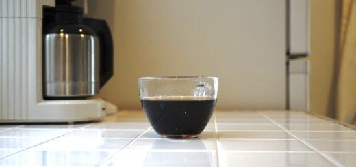 コーヒーメーカーの置き場