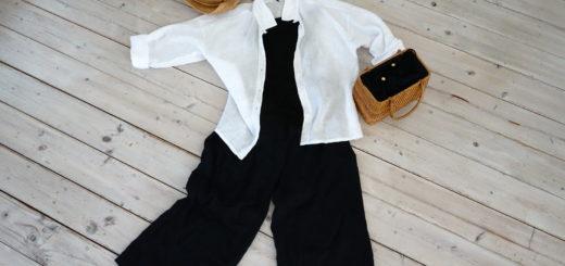 グンゼのリネンのシャツとパンツ