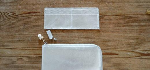 長財布を超薄型にリメイク